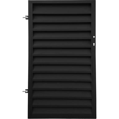 Furtka ogrodzeniowa KRETA 90 cm lewa POLBRAM czarna