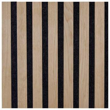 Panel akustyczny Lamel na filcu 30 x 30 cm