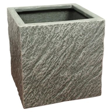 Doniczka betonowa 37 x 37 cm grafitowa MPSS KWADRAT CERMAX