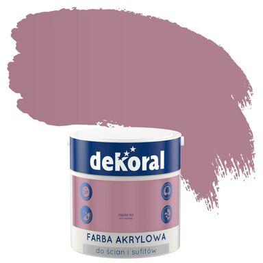 Farba wewnętrzna do ścian i sufitów KOLORY, KTÓRE INSPIRUJĄ 2.5 l Majowy bez DEKORAL