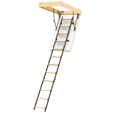 Schody strychowe 3-segmentowe STALLUX 120 x 60 cm