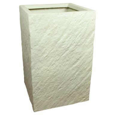 Doniczka betonowa 30 x 30 cm biała MPSS PROSTOKĄT CERMAX