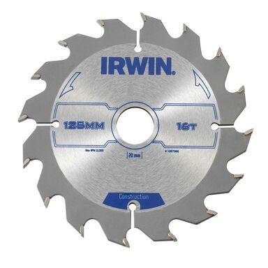 Tarcza do pilarki tarczowej PRO125X16TX20/16 śr. 125 mm  16 z IRWIN