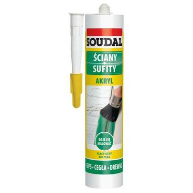 Akryl ŚCIANY SUFITY 280 ml Biały SOUDAL