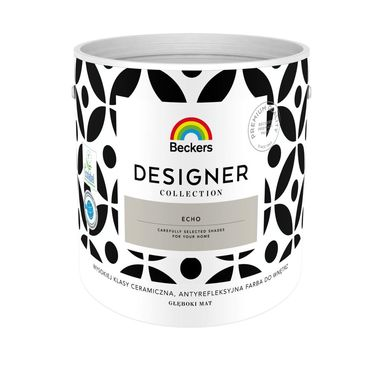 Farba wewnętrzna DESIGNER COLLECTION 2.5 l Echo BECKERS