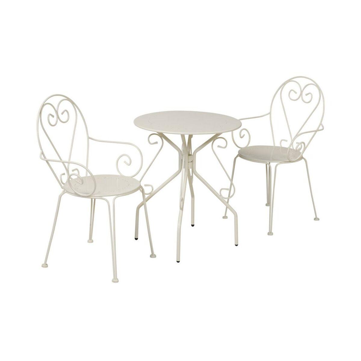 Krzeslo Ogrodowe Parma Stalowe Kremowe Krzesla Fotele Lawki Ogrodowe W Atrakcyjnej Cenie W Sklepach Leroy Merlin