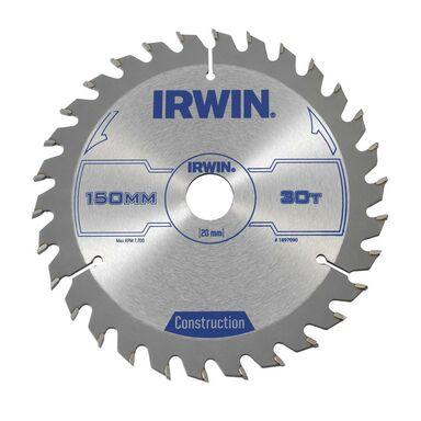 Tarcza do pilarki tarczowej PRO150X30TX30/20  150 mm zęby: 30 szt. IRWIN