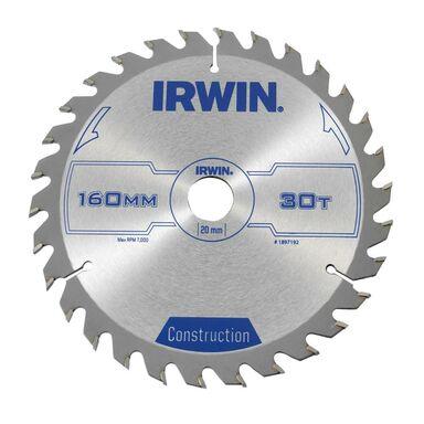 Tarcza do pilarki tarczowej PRO160X30TX20/16 śr. 160 mm  30 z IRWIN