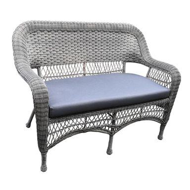 Sofa ogrodowa MANCHESTER technorattanowa szara