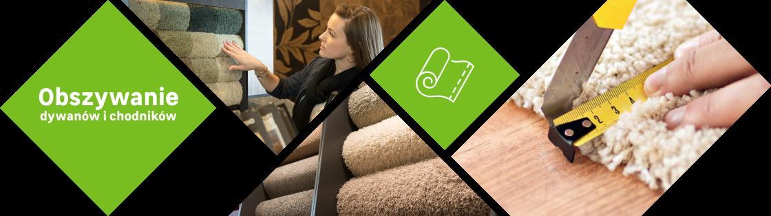 Obszywanie dywanów i chodników