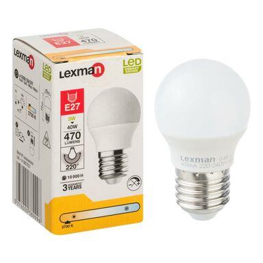 Żarówka LED E27 (230 V) 5 W 470 lm Ciepła biel LEXMAN