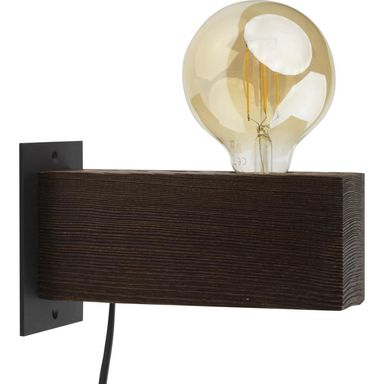 Kinkiet ARTWOOD 2667 wenge E27 TK LIGHTING