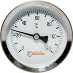 Termometr bimetaliczny przylgowy 63 mm CALIDO
