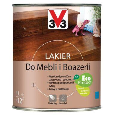 Lakier DO MEBLI I BOAZERII 1 l Dąb średni Satyna V33