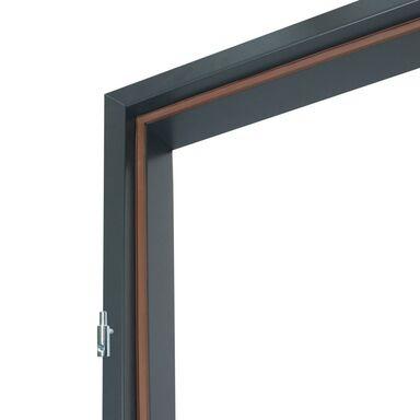 Ościeżnica STAŁA do drzwi zewnętrznych Master 90 Lewa Grafit