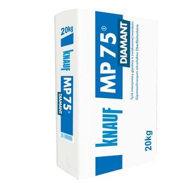 Tynk GIPSOWY MASZYNOWY MP75 DIAMAND biały KNAUF