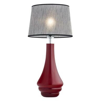 Lampa stołowa AMAZONKA czerwona E27 PREZENT