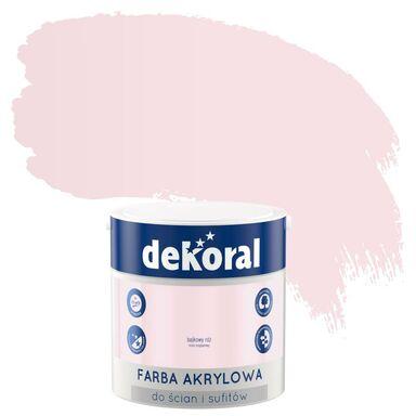 Farba wewnętrzna do ścian i sufitów KOLORY, KTÓRE INSPIRUJĄ 2.5 l Bajkowy róż DEKORAL