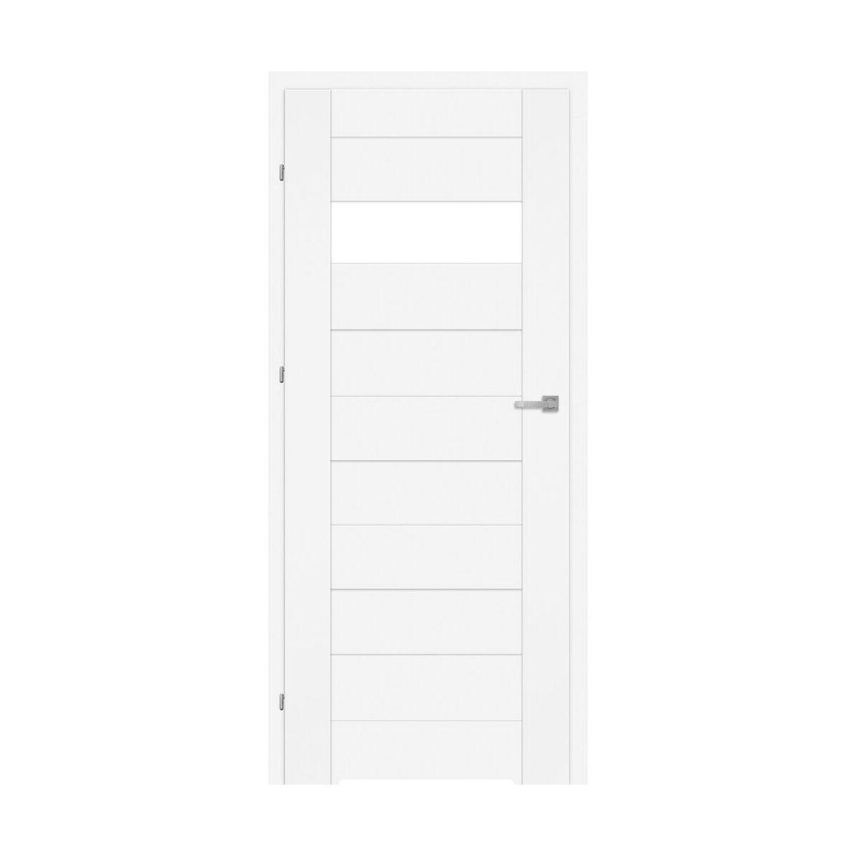 Skrzydlo Drzwiowe Z Podcieciem Wentylacyjnym Lora Biale 90 Lewe Classen Drzwi Wewnetrzne W Atrakcyjnej Cenie W Sklepach Leroy Merlin