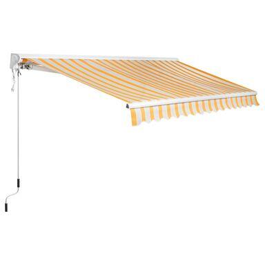 Markiza tarasowa Z PÓŁKASETĄ OCHRONNĄ I NAPĘDEM 3,75 x 3 m