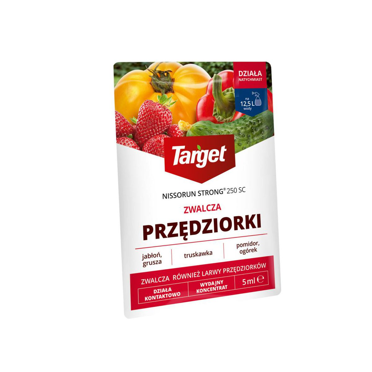 Środek przędziorkobójczy NISSORUN STRONG 250 SC 5 ml TARGET NATURAL