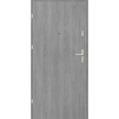 Drzwi zewnętrzne drewniane CASTELLO Grafit 80 Lewe EVOLUTION