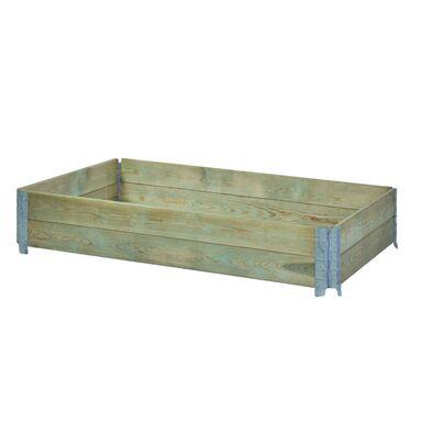 Warzywnik / skrzynka ogrodowa 120 x 80 x 20 cm wzniesiona grządka SOBEX