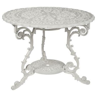 Stół ogrodowy ROMANTICA BIANCO 92 cm VEGA