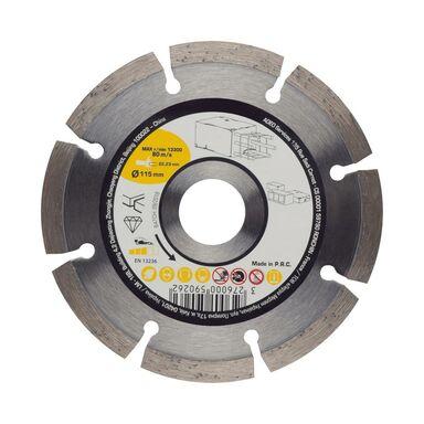 Tarcza diamentowa pełna DO BETONU 115X2.1X22.2 mm