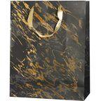 Torebka na prezenty GOLDEN SPLASH 12 x 41 cm