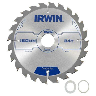Tarcza do pilarki tarczowej PRO180X24TX30/20/ śr. 180 mm  24 z IRWIN