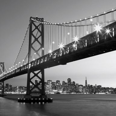 Fototapeta SAN FRANCISCO SKYLINE 254 x 366 cm