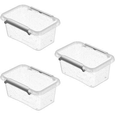 Zestaw pojemników Antibacterial 3 x 0.5 l Orplast
