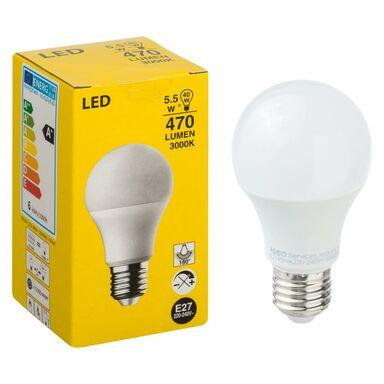 Żarówka LED E27 (230 V) 5.5 W 470 lm Ciepła biel