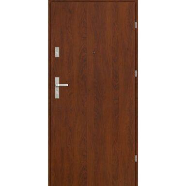 Drzwi wejściowe CASTELLO Orzech 80 Prawe EVOLUTION