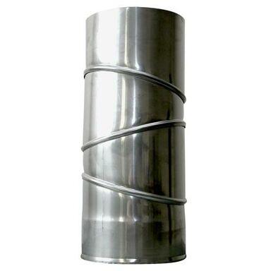 Kolanko spustowe NIERDZEWNE 130 mm SPIROFLEX