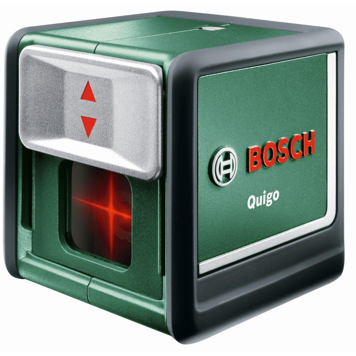 Laser Krzyzowy 10 M Bosch Quigo Iii Urzadzenia Laserowe W Atrakcyjnej Cenie W Sklepach Leroy Merlin
