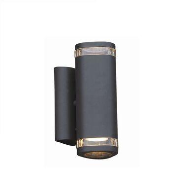 Kinkiet zewnętrzny NOEL IP44 szary aluminium GU10 ITALUX