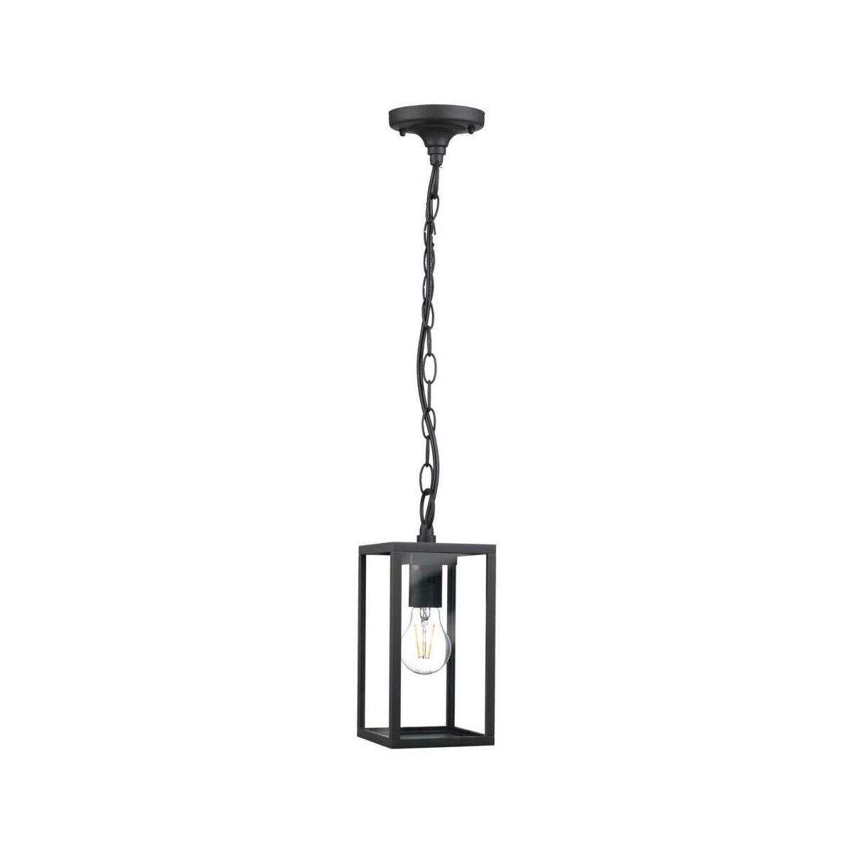 Lampa Ogrodowa Wiszaca Malmo Ip44 Czarna E27 Polux Oswietlenie Ogrodowe Napieciowe W Atrakcyjnej Cenie W Sklepach Leroy Merlin