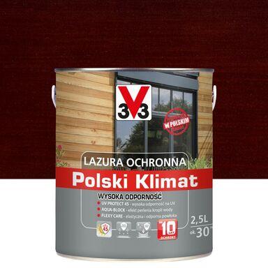 Lazura do drewna Polski klimat 2.5 l Mahoń V33