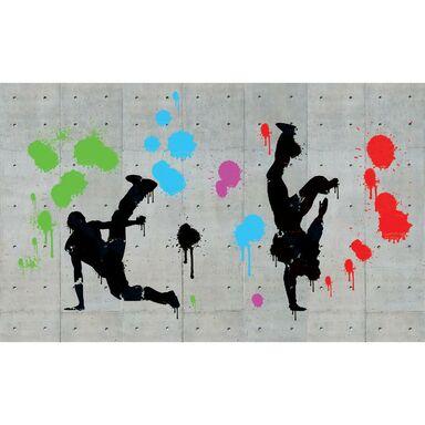 Fototapeta Hip Hop Graffiti 368 x 254 cm