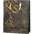 Torebka na prezenty GOLDEN SPLASH 13 x 33.5 cm