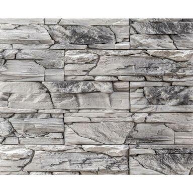 Kamień dekoracyjny betonowy Lemnos biało-szary 35 x 10 cm 0.46m2 Steinblau