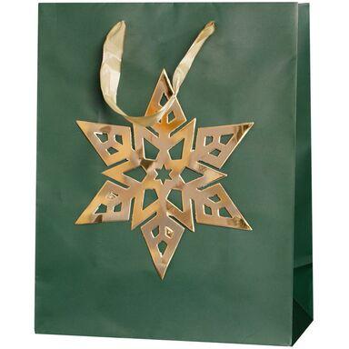 Torebka na prezenty BIG STAR GREEN 13 x 33.5 cm
