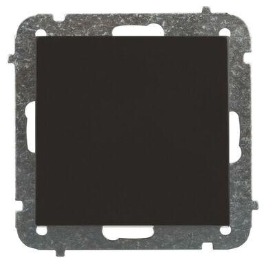 Włącznik krzyżowy SENTIA Czarny ELEKTRO-PLAST