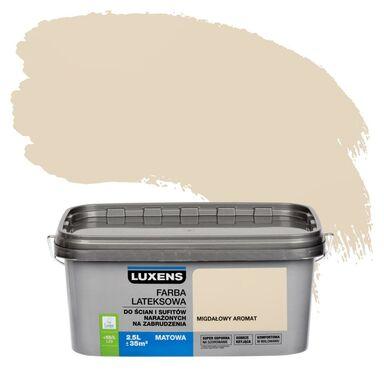 Farba wewnętrzna NARAŻONYCH NA ZABRUDZENIA 2,5 l Migdałowy aromat LUXENS