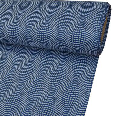Tkanina na mb LUNA BLUE niebieska szer. 145 cm