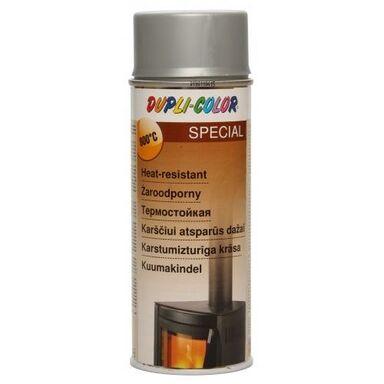 Lakier żaroodporny wysokotemperaturowy SPECIAL 400 ml Srebrny DUPLI COLOR