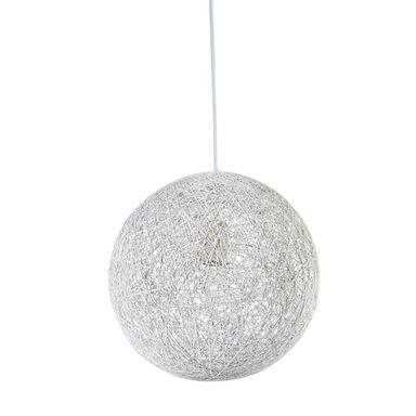 Lampa wisząca CARUBA biała E27 CANDELLUX