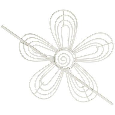 Upinacz do zasłon STOKROTKA biały 17 x 17 cm INSPIRE